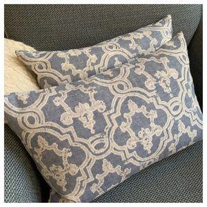 Pair of RESTORATION HARDWARE Pillows